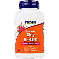 Витамин E-400 в порошке Now Foods 100 капсул