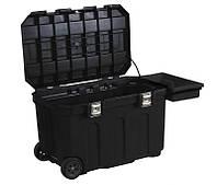 """Ящик пластмассовый с колесами """"Mobile Job Chest™"""" с интегрированным замком.  STANLEY 1-93-278"""