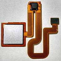 Шлейф Датчик отпечатка пальца Хiaomi Redmi Note 3 стальной