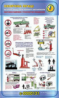 Стенд по охране труда и технике безопасности Ремонт автомобиля