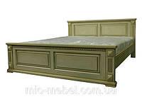 Кровать из натурального дерева  (масив-ольха) Версаль