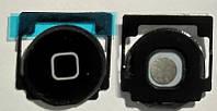 Кнопка home для планшета Apple iPad 3/4 чёрная