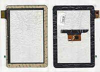 Тачскрин (сенсор) №207 icou10 (p/n: YTG-P10005-F1, QSD E-C100011-01) 257x170 mm 10 pin черный