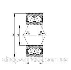 Подшипник SKF 3207A-2RS1TN9/C3, 5207, фото 2
