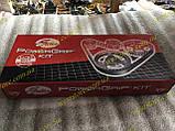 Набор ГРМ Ролик натяжной + ремень ГРМ на ВАЗ 2108,2109,21099 (GT K015521 ХS) Gates, фото 5