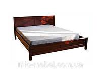 """Деревянная кровать """"Глория"""" двуспальная, полуторная, односпальная"""