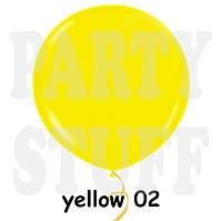"""Воздушный шар гигант Gemar G550 69"""" Желтый (175 см)"""