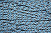 Канат декоративный 10 мм (50м) голубой+серебро
