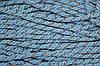Канат декоративный ПЭ 10 мм (50м) голубой+серебро