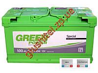 Автомобильный аккумулятор GreenPower 6СТ-100