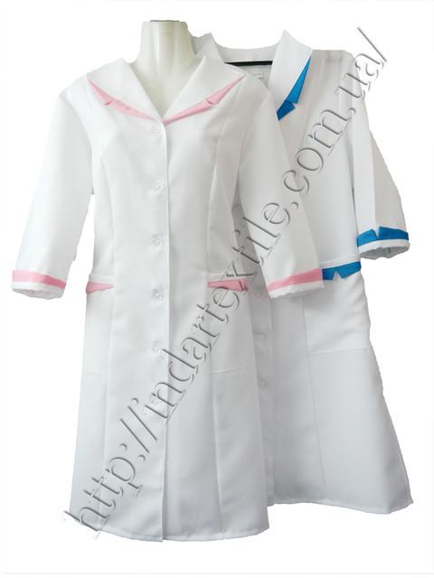 Медичні халати чоловічі та жіночі