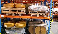 Направляющие (натяжные) колеса - ленивец JOHN DEERE 850C DF, 120, JD690B, 690E, 330LC , фото 1