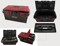 Ящик для инструмента  4 секции (пластик)  556(L)x278(W)x270(H)mm TOPTUL TBAE0401