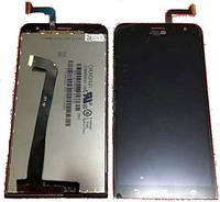 Дисплей (экран) для Asus ZenFone 2 Laser ZE550KL  + с сенсором (тачскрином) Black