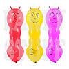 Воздушные шарики Gemar Гусеница с рожками (21x65x75 см), 50 шт