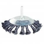 SIGMA Щетка стальная конусообразная дрель, 75мм 9025071