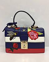 Женская сумка из кожзаменителя Gucci, фото 1