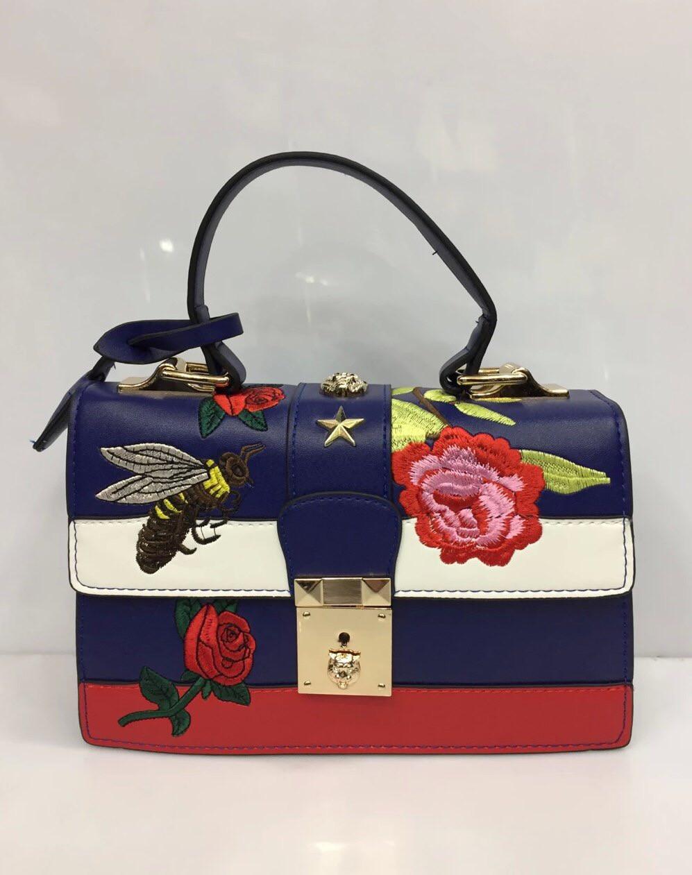 Женская сумка из кожзаменителя Gucci