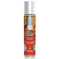 Лубрикант со вкусом мандарина  System JO H2O Flavors Tangerine Dream 30 ml