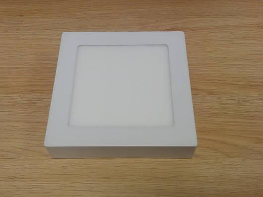 Светильник накладной LED  Downlight  12W 6400K  размер 170*170 мм квадратный  алюминиевый корпус