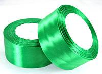 Лента атласная 3,8см 5шт зеленая 23м ЛА38-41