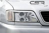 Реснички бровки тюнинг Audi A6 C4