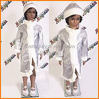 Карнавальный костюм снегурочка для девочек