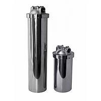 """Магистральный фильтр BB 10"""", нержавеющая сталь, в комплекте с картриджем ПП"""