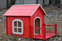 Будка для собак № 14,  Н550, 460*900