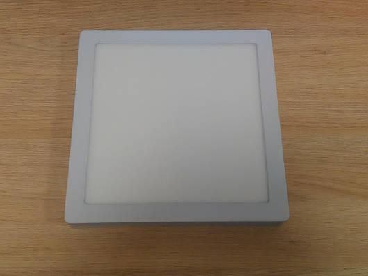 Светильник накладной LED  Downlight  24W  6400K  размер 300*300 мм  квадратный  алюминиевый корпус