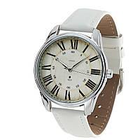 """Часы ZIZ маст-хэв """"Лондонский вокзал"""" (белый, серебро) 1405602"""