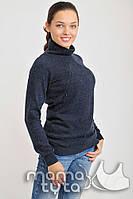 Пуловер для беременных и кормления на змейках (ночное небо)