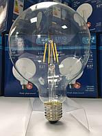 Лампа светодиодная филамент (Filament) G125 E27, 10 Вт.