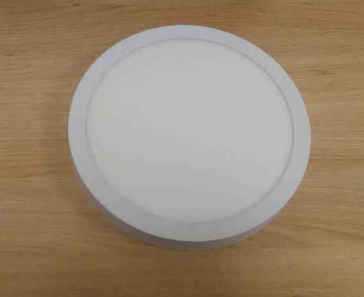 Светильник накладной LED  Downlight  24W  6400K  диаметр 300 мм  круглый  алюминиевый корпус