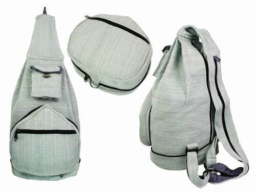 Рюкзак из натуральной ткани серый Kathmandu
