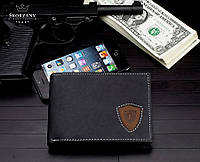 НОВИНКА! Практичний чоловічий гаманець Loren натур. шкіра, фото 1