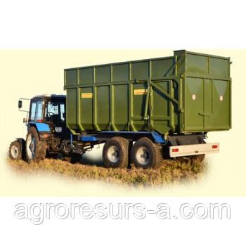 Прицеп тракторный самосвальный 12Т ТСП-16, Завод Кобзаренко