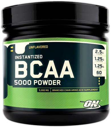 Optimum Nutrition BCAA 5000 Powder (без вкуса) 345g
