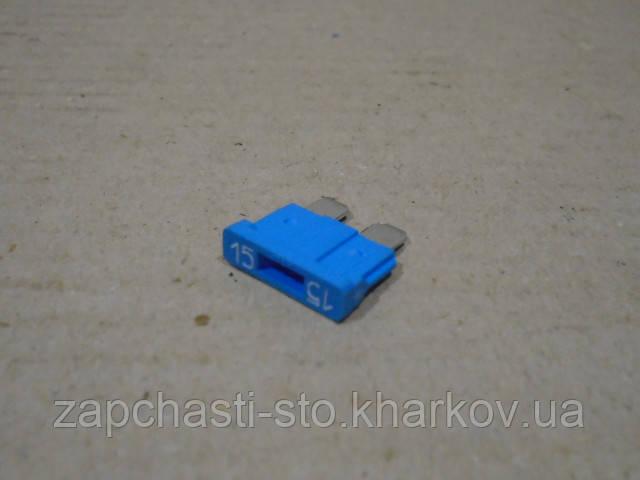Предохранитель 15А синий ЕВРО АВАР (FT Norm)