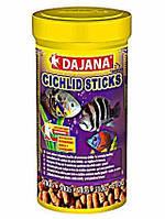 Dajana Cichlid Sticks 1л - корм для крупных и средних цихлидов в гранулах