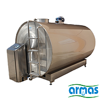 Танк для молока с охладителем 10000 литров ARMAS