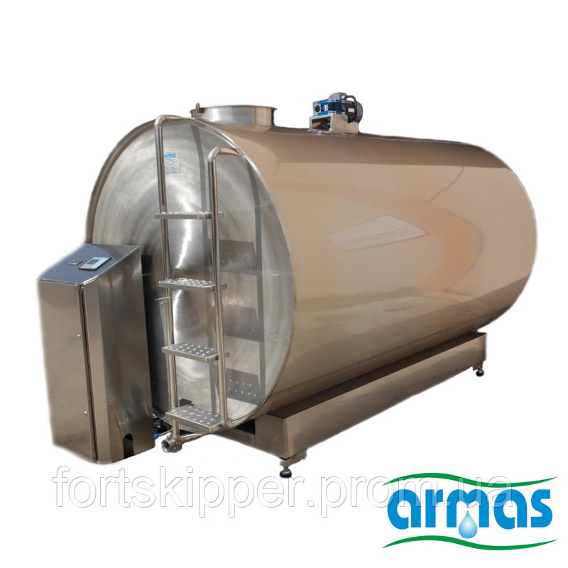 Танк для молока с охладителем 10000 литров ARMAS - Промышленное оборудование и технологии для бизнеса в Киеве