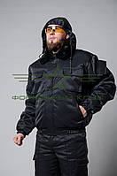 Куртка зимняя для охраны черная 48-50