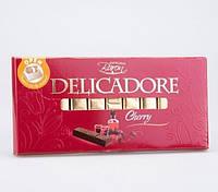 Шоколад Delicadore Cherry (Деликадор вишня) 200 г. Baron Польша