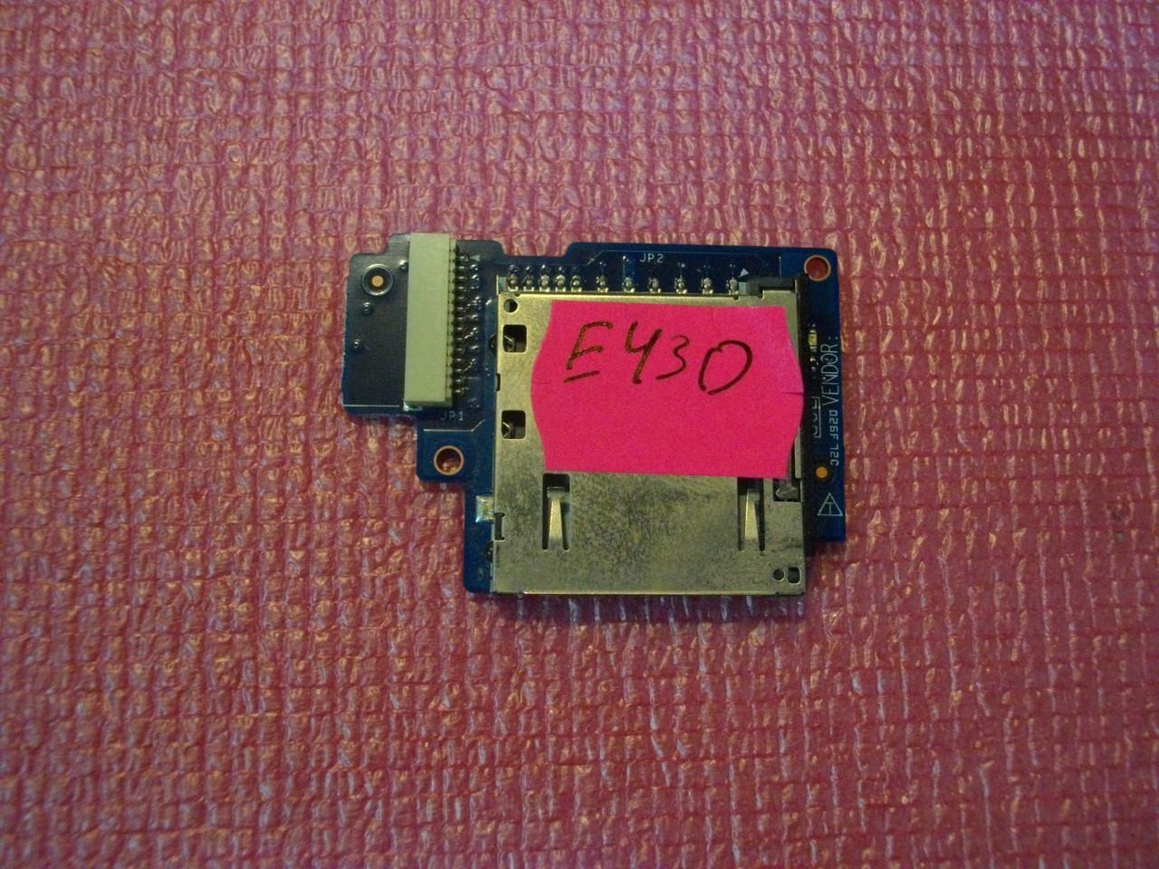 Плата картридер Lenovo ThinkPad Edge E430, E530, E545, E535