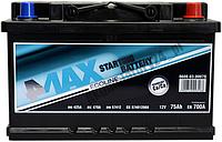 Аккумулятор 4max 75Ah, 700A