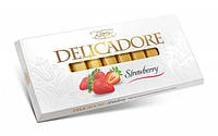 Шоколад Delicadore Strawberry (Деликадор клубника) 200 г. Baron Польша
