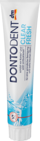 Зубная паста Свежесть Dontodent 125ml