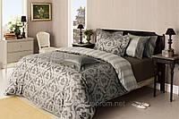 Комплект постельного белья Valeron Tresor серый