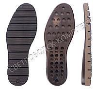 Подошва для обуви 5379, цв.коричневый